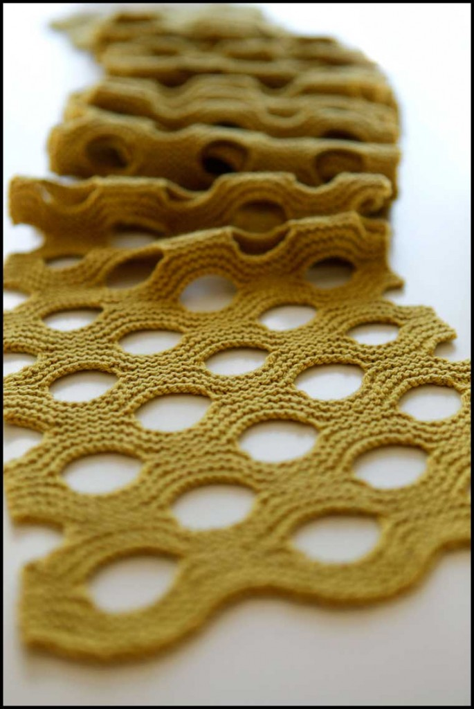 Способы вязания шарфов