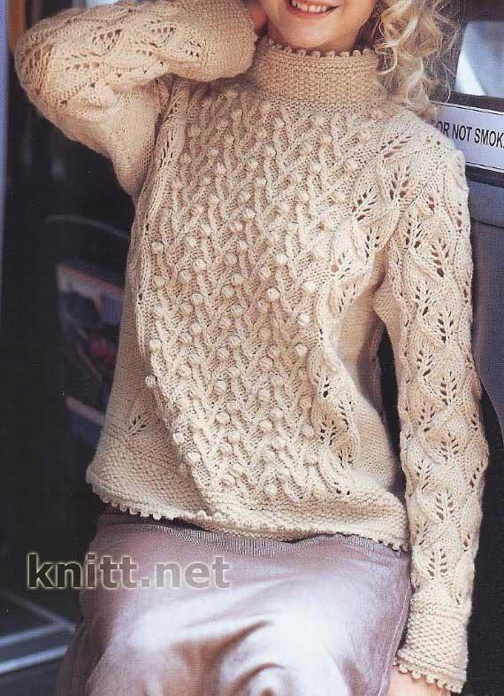 Вязание спицами кофты свитера схема фото 243