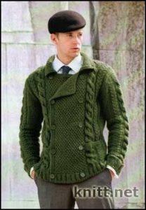 Мужская кофта в классическом стиле