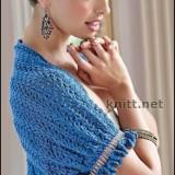Шраг синего цвета
