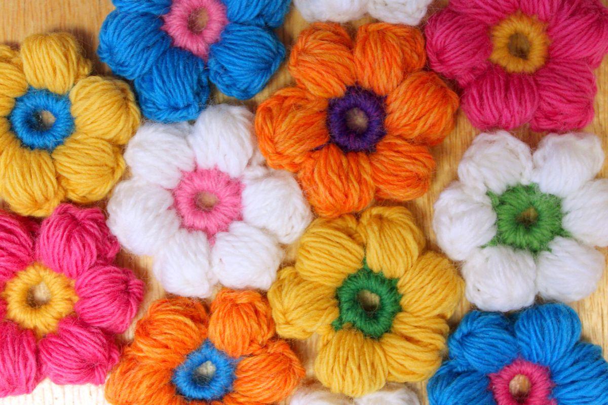 самое простая схема и описание вязание крючком ковриков