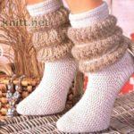 Носки с «буффами»