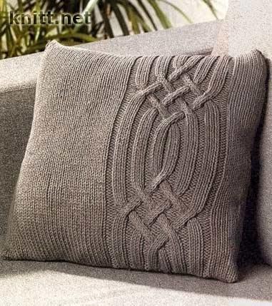 Подушка с косами
