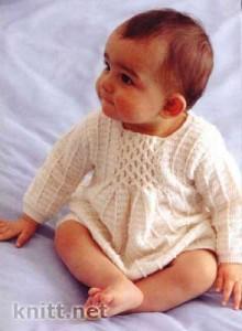 Платье для девочки от рождения до 10 мес