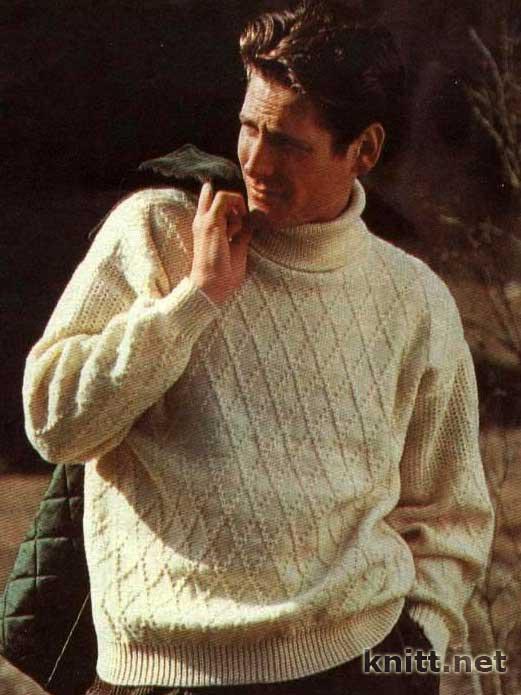 Вязание мужской одежды