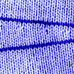 Вязание горизонтальной вытачки