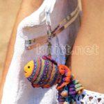 Брелок Сказочная рыбка украшение крючком
