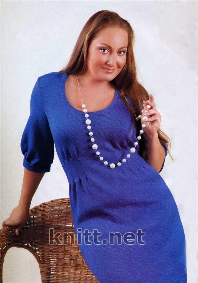 Вязание для женщин платья с описанием