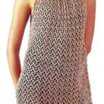 Золотистое ажурное платье