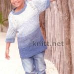 Ажурный пуловер BELINDA