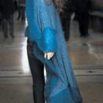 Длинное асимметричное пальто Perla