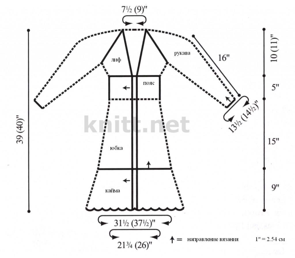 пальто с ажурными узорами