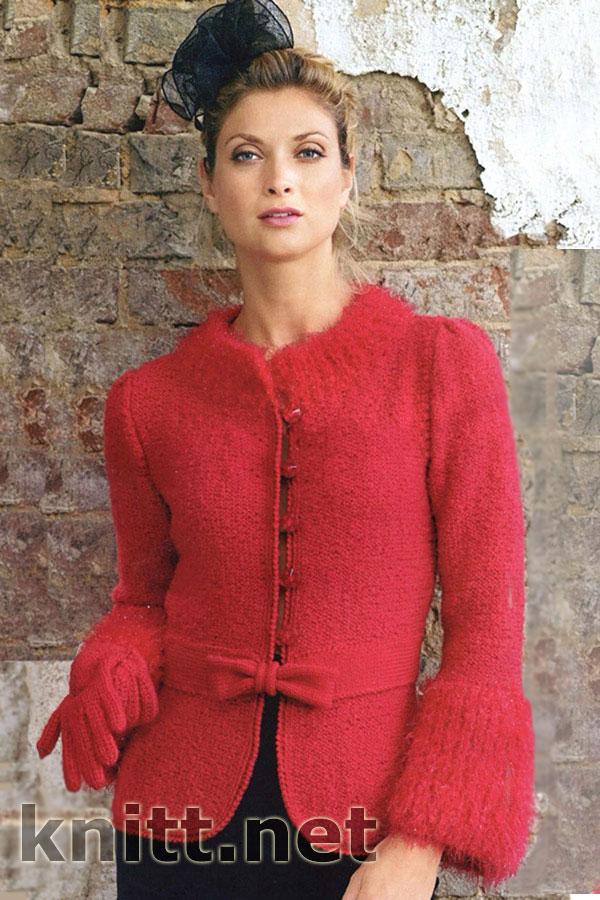 вязание для женщин, Вязание спицами, для весны и осени, жакет