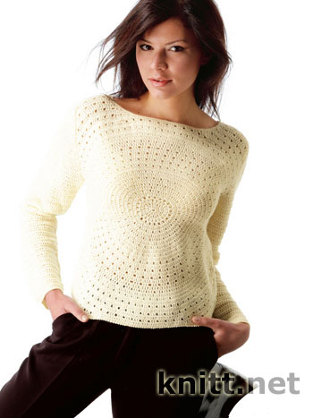 Пуловер из центра