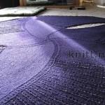Пятиконечная шаль «Морская звезда»