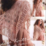 Шаль Egypto lace shawl