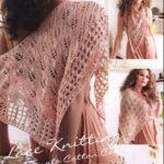 Шаль Egypto lace shawl