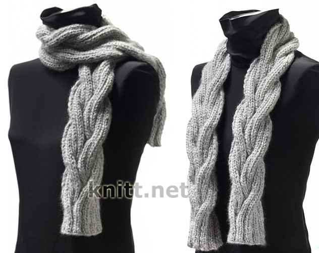 Шарф Cable Scarf