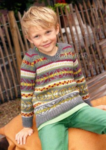 Пуловер JULIAN для мальчика