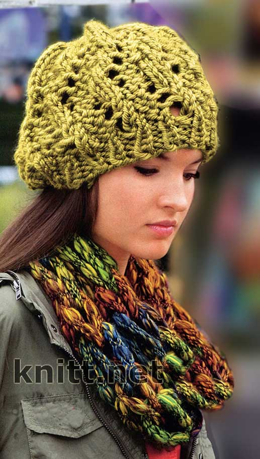 вязаный шарф | Женский модный блог