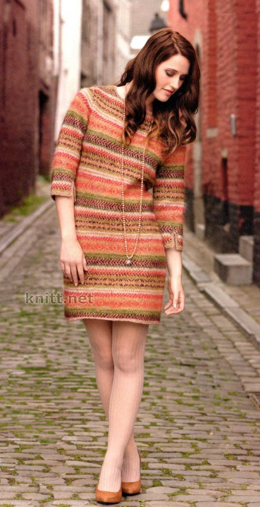 Вязаное платье ELLA