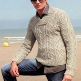 Вязаный пуловер для мужчины WINSTON