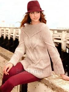 свободный пуловер DIONNE