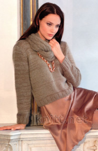 пуловер PAULA и шарф
