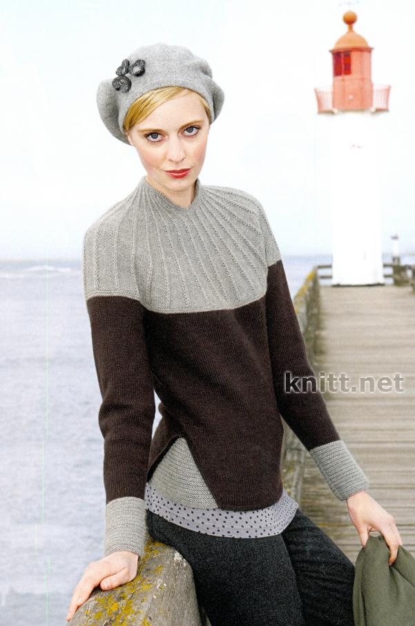 Вязаный пуловер MYRTHA