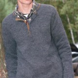 Вязаный пуловер для парня, мужчины