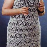 Ажурное платье-сарафан
