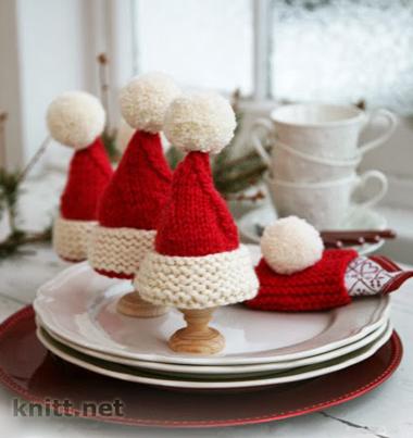 Новогодние шапочки