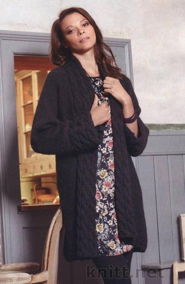 Свитер с рукавом реглан женский спицами схемы