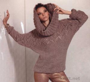 вязание шарфов снуд, вязание пуловеров, связать пуловер спицами, ажурное вязание, вязание для зимы