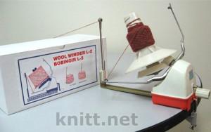 моталка для пряжи, моталка на конус, Ручная модернизированная моталка BROTHER Wool Winder L-2 с ускоренной намоткой, ручная моталка для пряжи, купить моталку для пряжи,