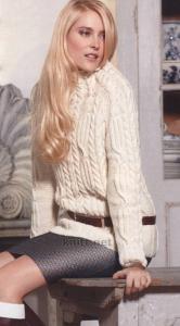 Такой элегантный и изысканный свитер Вы сможете одеть не только на прогулку с подружками, но и в офис. Модель красивая и женственная подойдет как девушкам так и женщинам. Можно носить как с брюками и юбкой так и с джинсами.