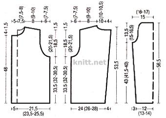 Свитер-жакет выполнен спицами по классической выкройке. Модель смотрится по-новому за счет плетеного узора. Изысканная модель пригодится в вашем гардеробе для не официальных встреч.