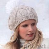 шапка с пампоном