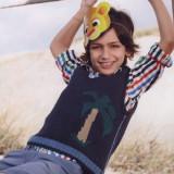 Детская безрукавка с мотивом пальма понравится вашему малышу.