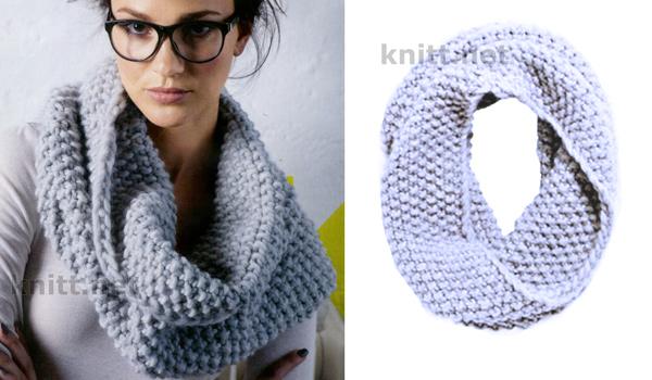 Узоры для шарфа хомутов