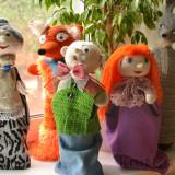 Вязаные куклы для кукольного театра