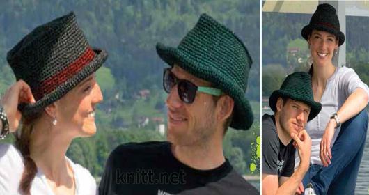 Две шляпы крючком