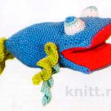 Рыбка крючком