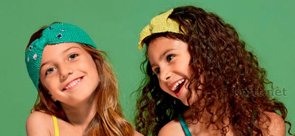 Яркие повязки для девочек