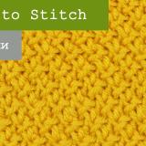 Risotto Stitch спицами