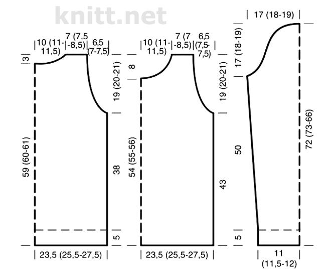 vyazanyj-pulover-s-uzorom-iz-vytyanutyx-petel-v