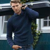 Вязаный мужской пуловер реглан