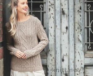 Вязание базового пуловера